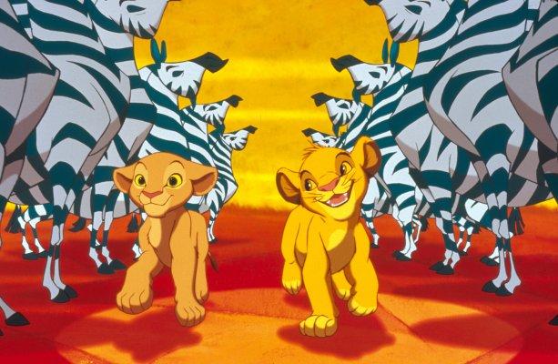 re leone zebre