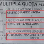 """La """"X"""" di Juventus – Barcellona ci ha portato in cassa!!! I BISCOTTI? Specialità della casa Okpronostico"""